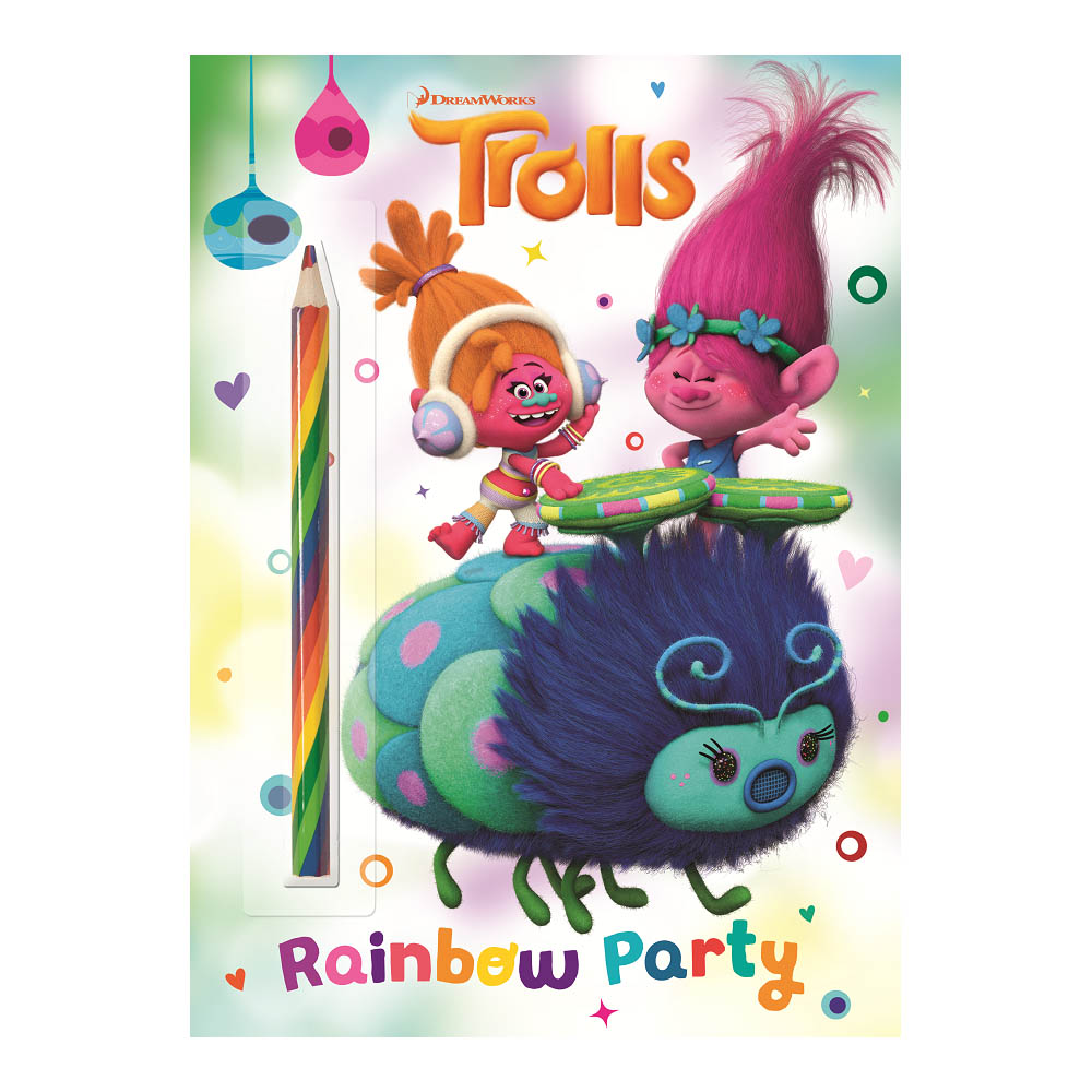 Golden Books Rainbow Party! (DreamWorks Trolls) (Paperback)