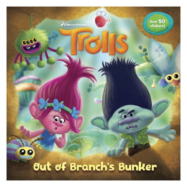 Out of Branch's Bunker (DreamWorks Trolls)(Paperback)