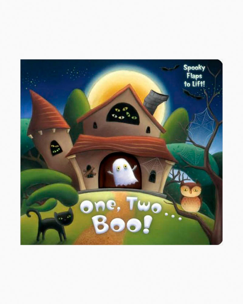 Kristen L. Depken, Claudine Gevry One, Two...Boo! (Board Book)