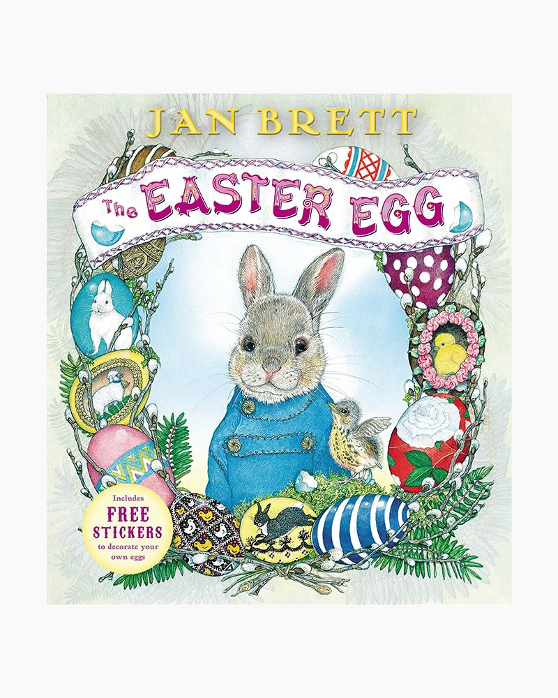 Jan Brett The Easter Egg (Board Book)