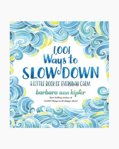 1,001 Ways to Slow Down (Hardcover)