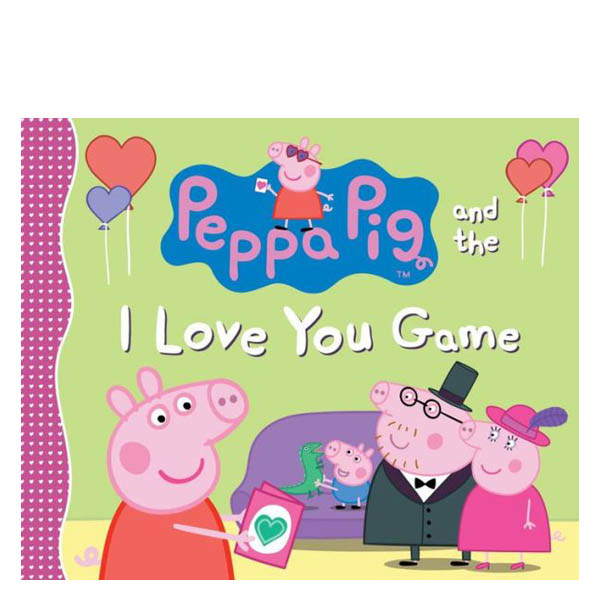 Candlewick Press Peppa Pig and the I Love You Game (Paperback)