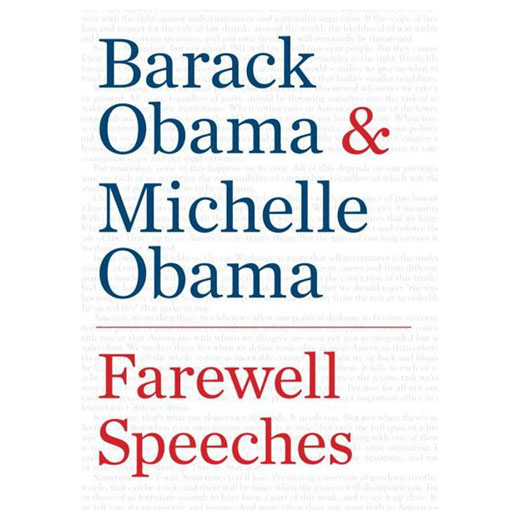 Barack Obama, Michelle Obama Farewell Speeches (Paperback)