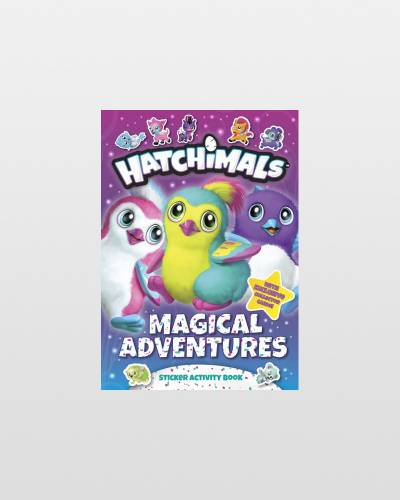 Hatchimals Magical Adventures: Sticker Activity Book (Paperback)