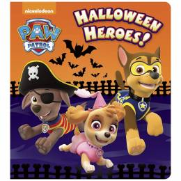 Random House Halloween Heroes! (Paw Patrol) (Board Book)
