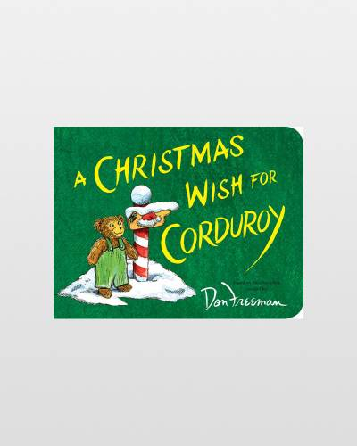 A Christmas Wish for Corduroy (Board Book)