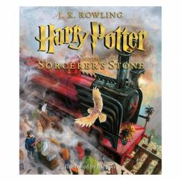 J. K. Rowling Harry Potter and the Sorcerer's Stone: The Illustrated Edition (Hardcover)