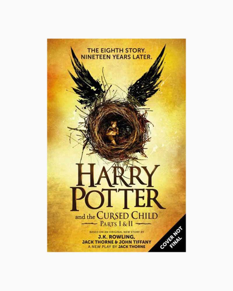 J.K. Rowling Harry Potter and the Cursed Child - Parts I and II (Hardcover) (Special Rehearsal Edition)