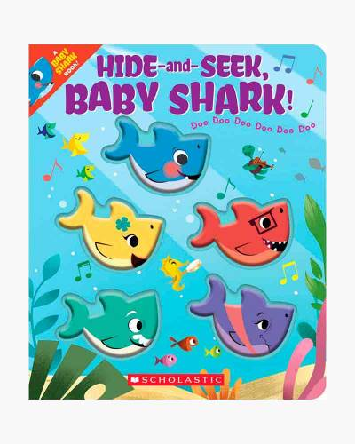 Hide-and-Seek, Baby Shark! (Board Book)
