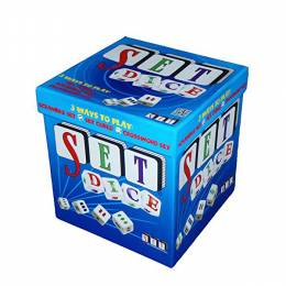 SET Enterprises Set Dice Game