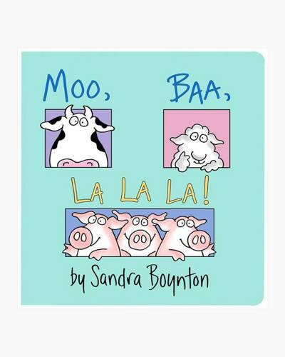 Moo, Baa, La La La! Board Book