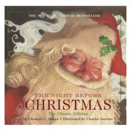 Clement Clarke Moore Night Before Christmas board book: The Classic Edition Board Book