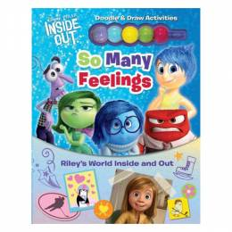 Inside Out Disney Pixar Inside Out: So Many Feelings: Riley's World Inside and Out (Hardcover)