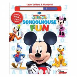 Disney Disney Mickey Mouse Clubhouse: Schoolhouse Fun: A,B,Cs & 1, 2, 3s (Hardcover)