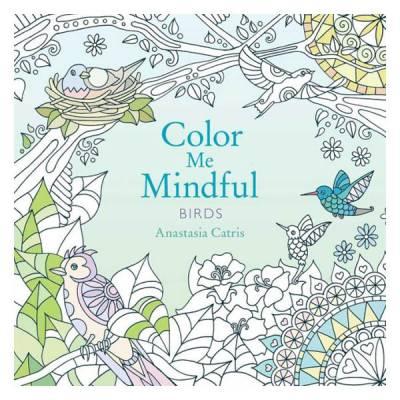 Peter Pauper Press Color Me Mindful Birds Paperback Coloring Book