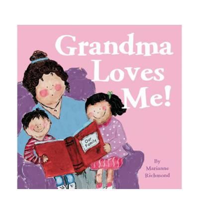Grandma Loves Me Board Book