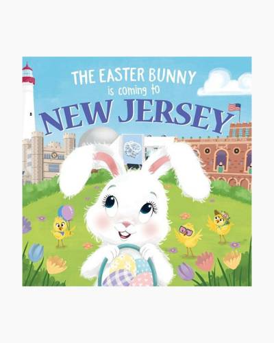 The Easter Bunny Is Coming to New Jersey (Hardcover)
