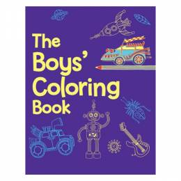 Sterling Publishing The Boys' Coloring Book (Paperback)