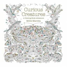 Millie Marotta Curious Creatures: A Coloring Book Adventure (Paperback)
