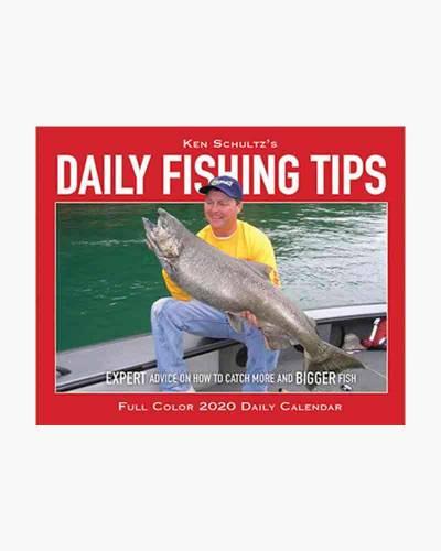 Ken Schultz's Daily Fishing Tips 2020 Desk Calendar