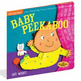 Kate Merritt Baby Peekaboo (Indestructibles Series) (Paperback)