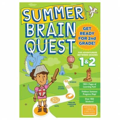 Summer Brain Quest: Between Grades 1 and 2 (Paperback)