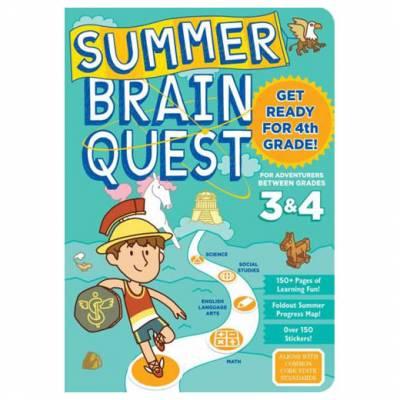 Summer Brain Quest: Between Grades 3 and 4 (Paperback)