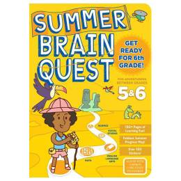 Kim Tredick Summer Brain Quest: Between Grades 5 and 6 (Paperback)