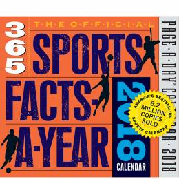 Workman Publishing The Official 365 Sports Facts-A-Year Day-to-Day 2018 Calendar
