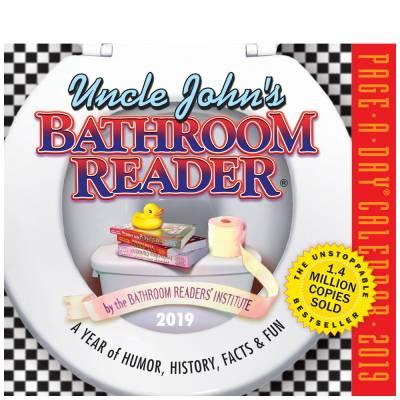 Uncle John's Bathroom Reader 2019 Daily Desk Calendar