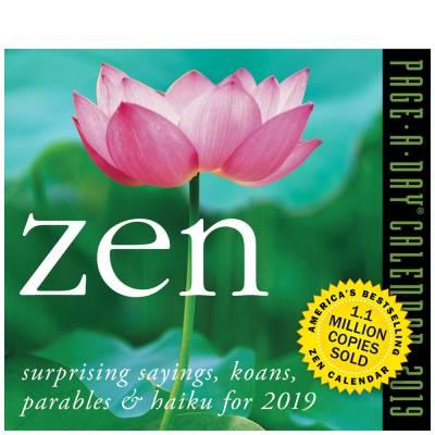 Zen 2019 Daily Desk Calendar