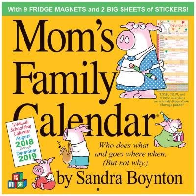 Mom's Family 2019 Wall Calendar