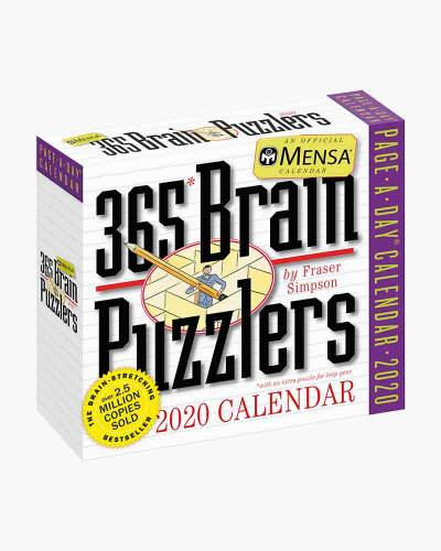 Mensa 365 Brain Puzzlers 2020 Day-to-Day Calendar