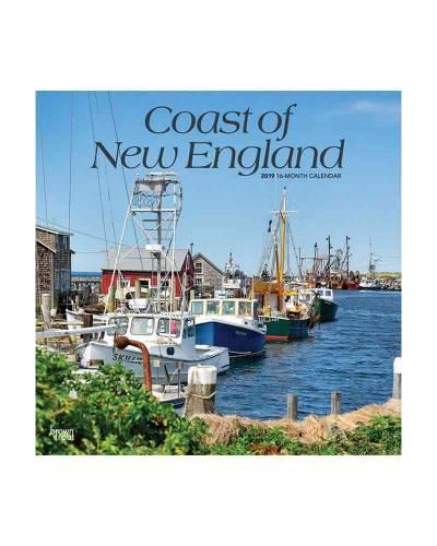 Coasts of New England 2019 Wall Calendar