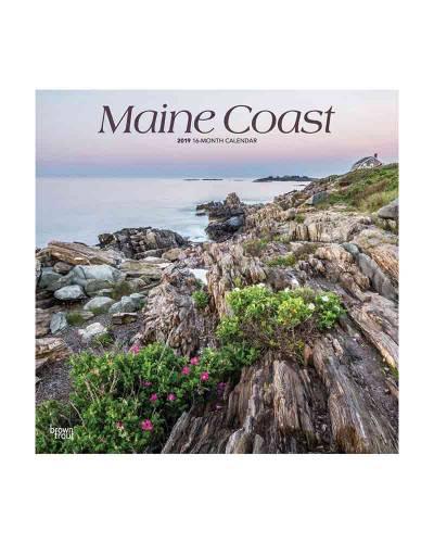 Maine Coast 2019 Wall Calendar