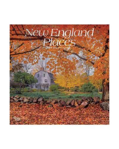 New England Places 2019 Wall Calendar
