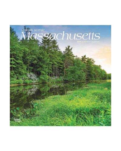 Wild and Scenic Massachusetts 2019 Wall Calendar