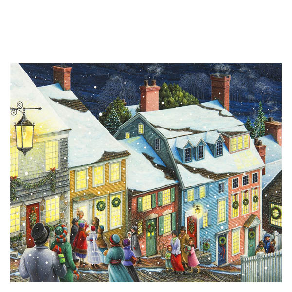 Springbok Christmas Carolers Jigsaw Puzzle (1,000 pc)
