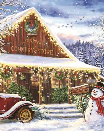 Lazy Creek Country Store Jigsaw Puzzle (1,000 pc)