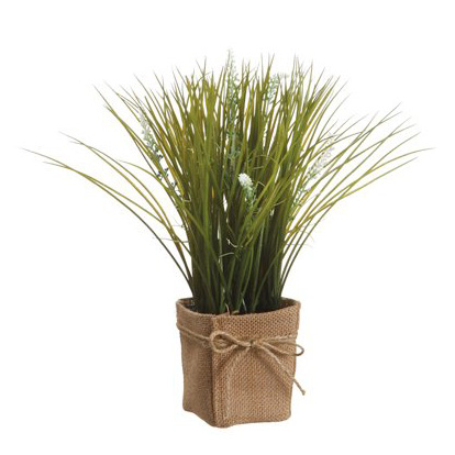 Allstate floral craft cream grass lavender silk pot for Allstate floral and craft