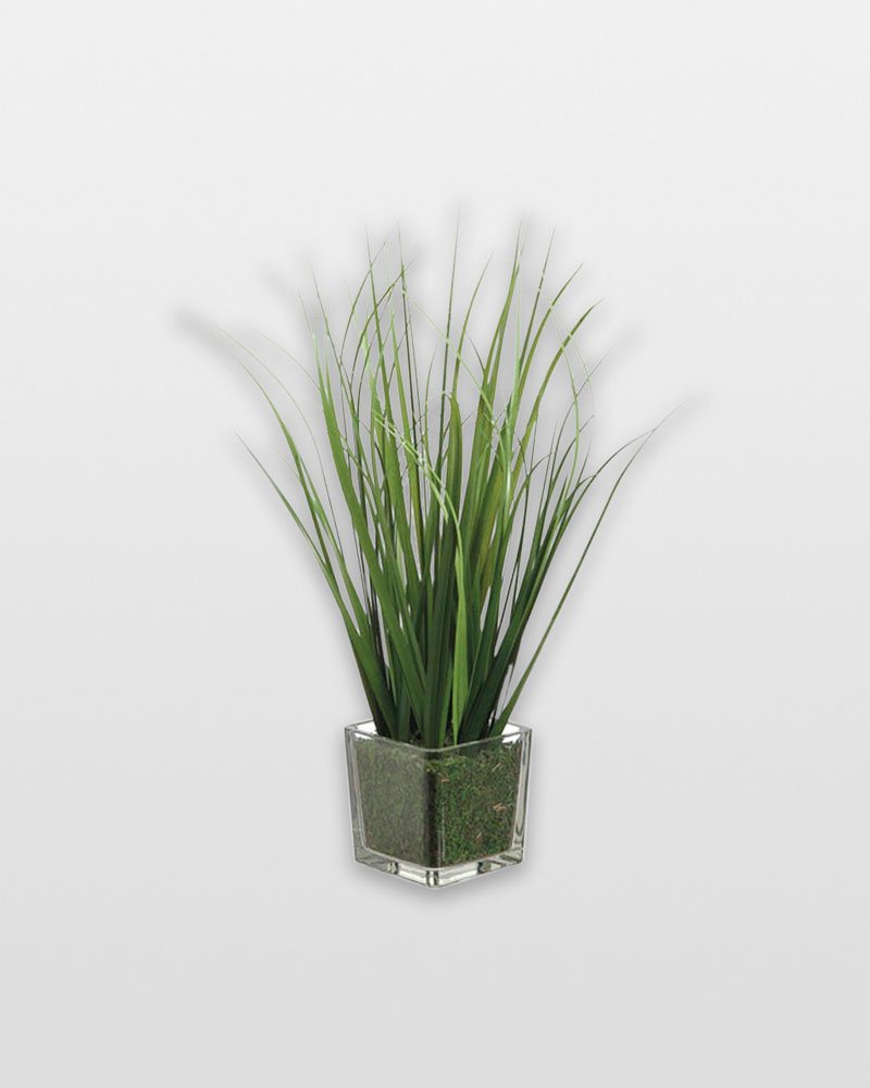 Allstate floral craft tall grass in glass vase the for Allstate floral and craft