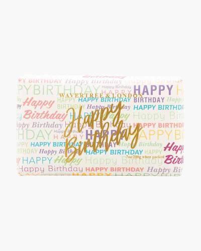Wavertree and London Happy Birthday Bar Soap