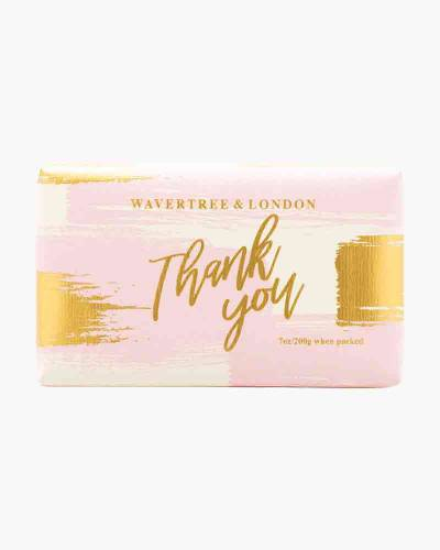 Wavertree and London Thank You Pink Bar Soap