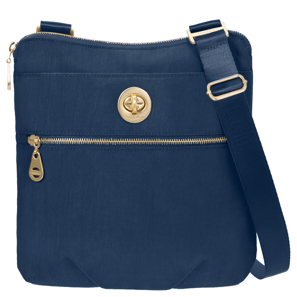 baggallini Gold Hanover Crossbody Pacific