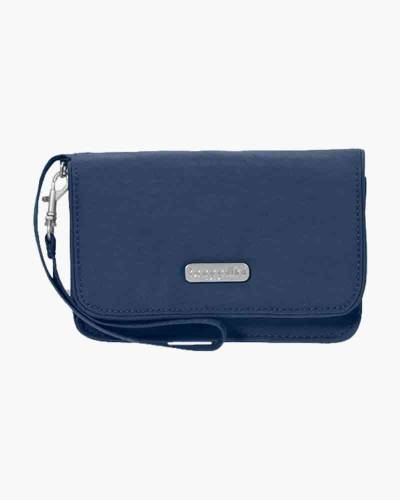 RFID Flap Wristlet in Pacific