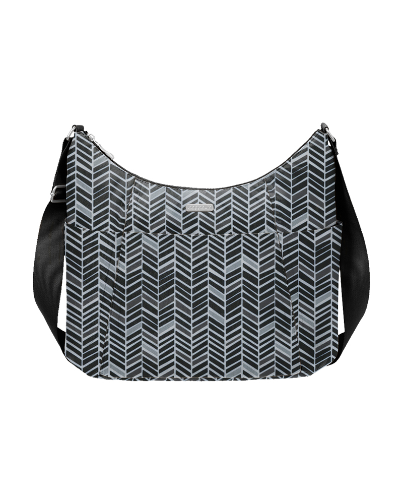baggallini Hobo Tote in Chevron
