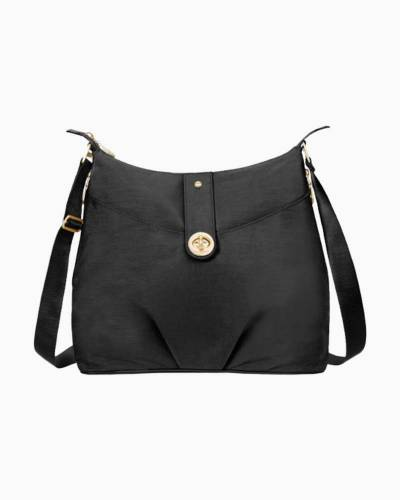 Gold Helsinki Bag in Black