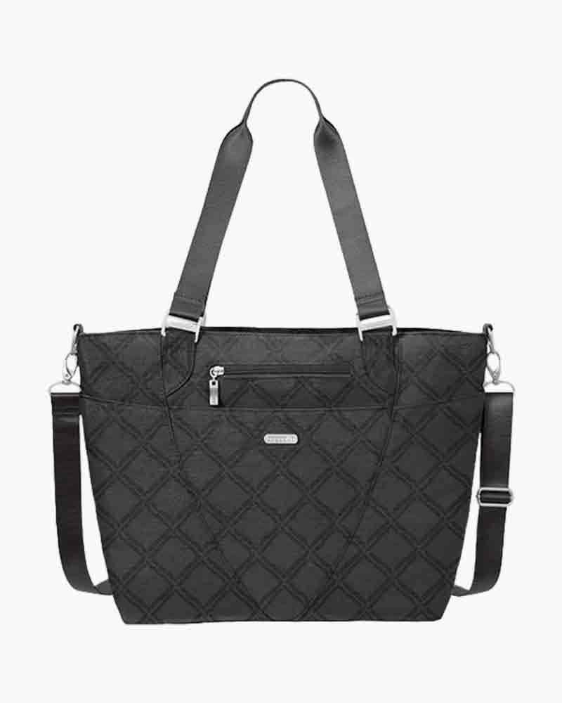 baggallini Avenue Tote in Charcoal Link