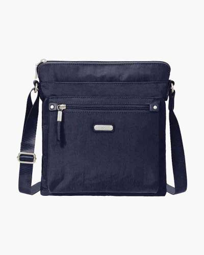 Go Bagg with RFID Phone Wristlet in Navy