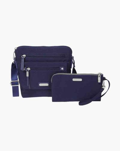 Escape Crossbody with RFID Phone Wristlet in Navy